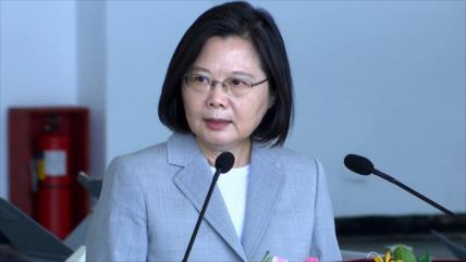 Presidenta de Taiwán: No buscamos confrontación militar con nadie