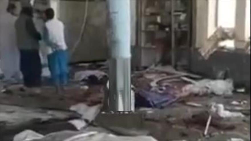 Explosión de bomba golpea una mezquita chií en Kunduz, Afganistán