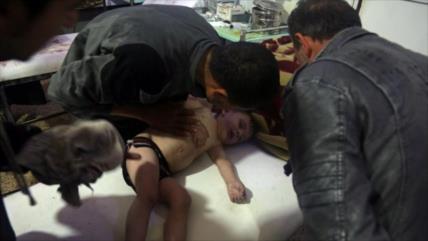 Rusia: Terroristas preparan otro ataque químico falso en Siria