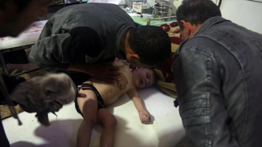 Rusia: Terroristas preparan otro ataque químico falso en Siria   HISPANTV