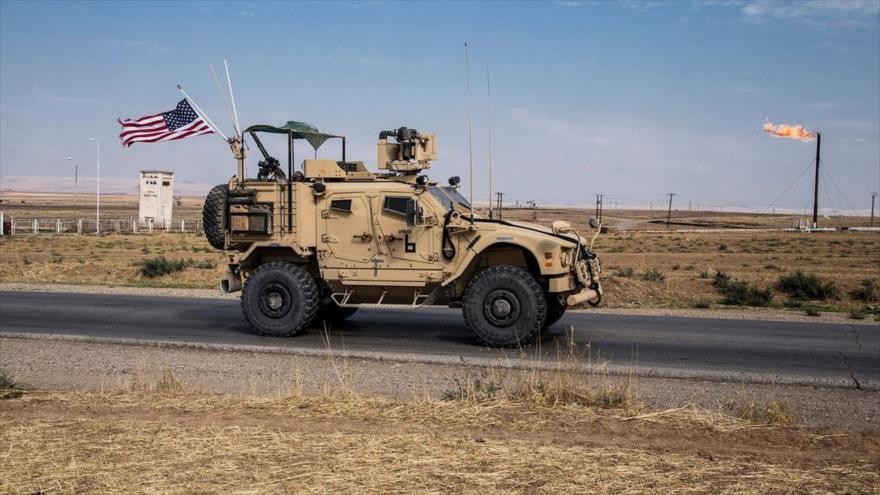 Las fuerzas estadounidenses patrullando en el este de Siria. (Foto: AP)