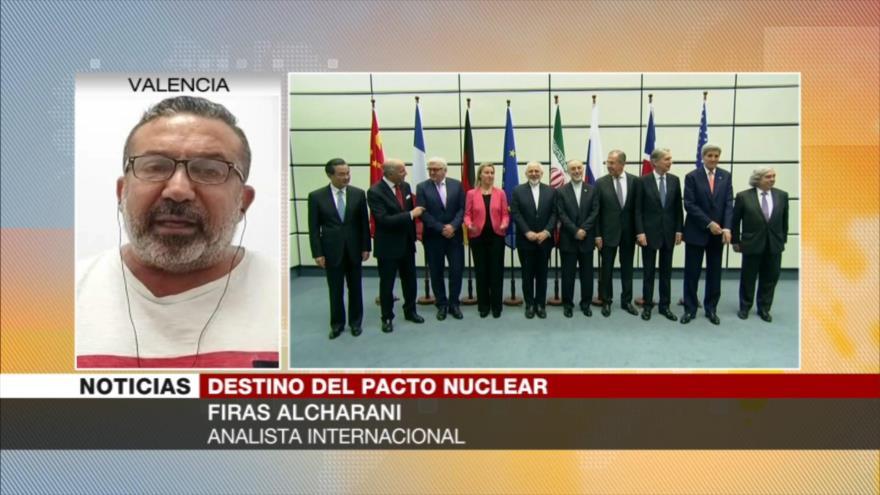 Alcharani: Europa implementa dictados de EEUU sobre pacto nuclear