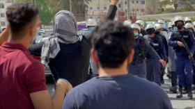 Siguen protestas contra Israel en Baréin pese a represión policial