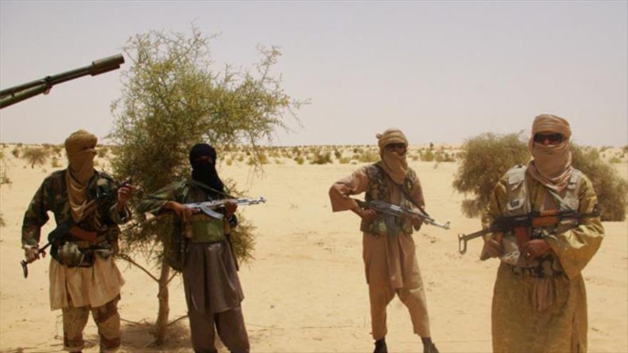 Terroristas de Daesh que operan en Malí.