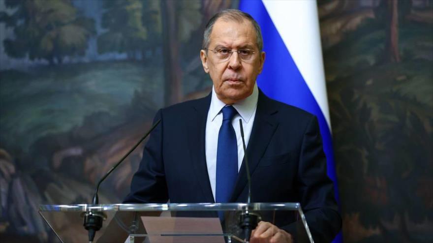 El ministro ruso de Asuntos Exteriores, Serguéi Lavrov. (Foto: TASS)