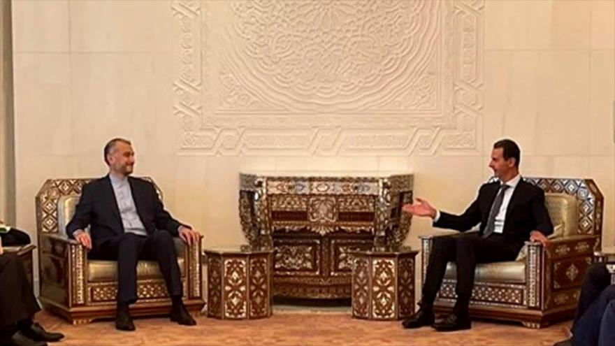 Lazos Irán-Siria. Programa nuclear de Irán. Colombia viola DDHH - Boletín: 12:30 - 09/10/2021