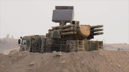 Rusia: Siria derribó ocho misiles disparados por cazas israelíes