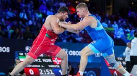 Luchadores grecorromanos iraníes ganan dos oros en Mundial de Oslo