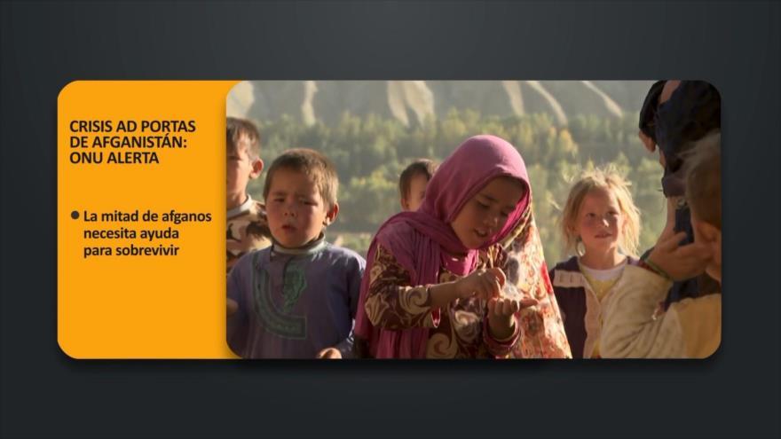 PoliMedios: Crisis ad portas de Afganistán: ONU alerta