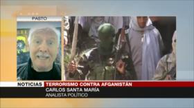 Santa María explica factores que mantienen enriesgo aAfganistán