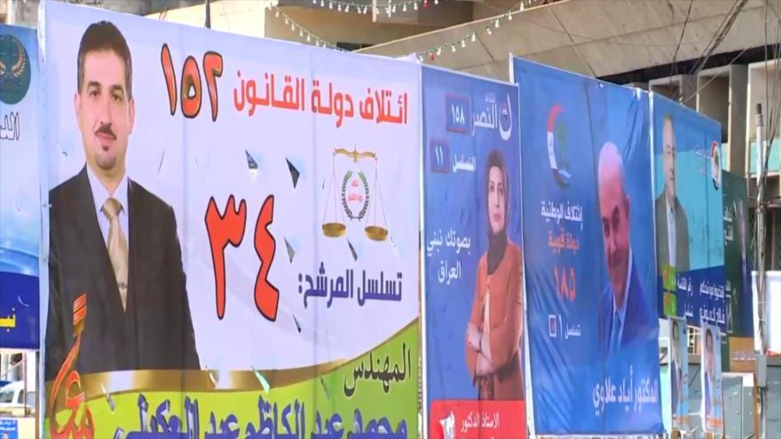 Iraquíes acudirán a las urnas en las elecciones parlamentarias   HISPANTV