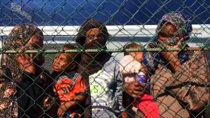 Migrantes en Libia piden ser deportados a lugares seguros