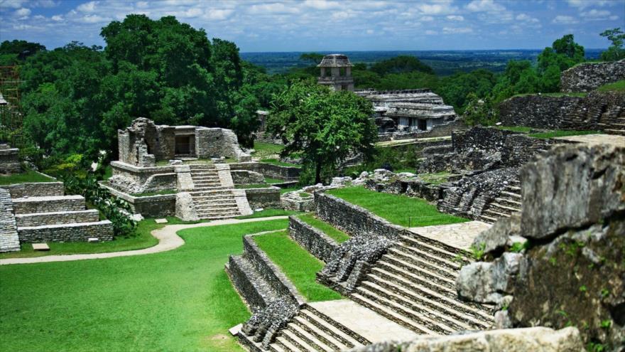Una estructura construida por el imperio maya en la península de Yucatán (sureste de México).