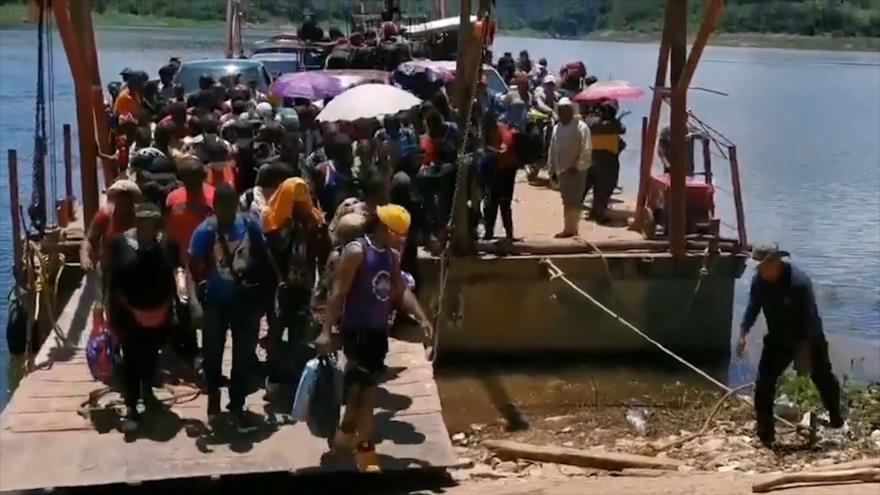 Ola de migrantes rebasa capacidades de asilo en México