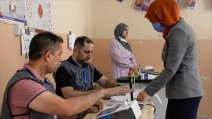Irak cierra importante jornada electoral con total éxito