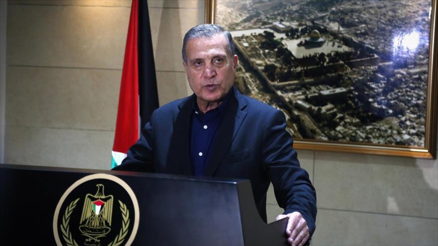 Nabil Abu Rudeine, portavoz del presidente palestino, Mahmud Abás.