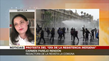 """""""Protestas de mapuche continuarán hasta llegar a una idea nacional"""""""