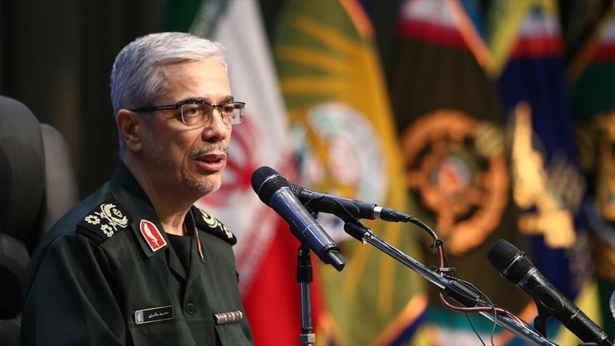 El jefe del Estado Mayor de las Fuerzas Armadas de Irán, el general de división Mohamad Hosein Baqeri. (Foto: MOJ New Agency)