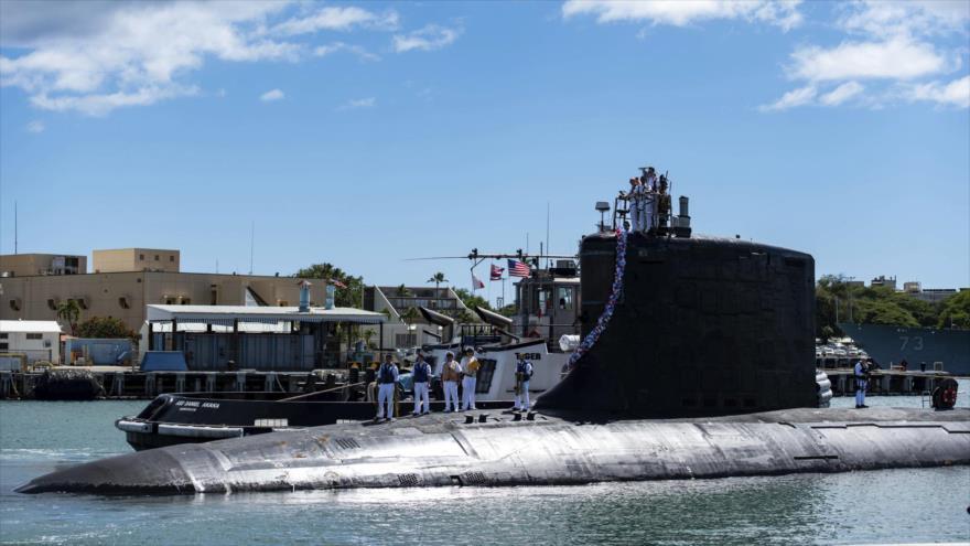 Submarino de clase Virginia USS Illinois (SSN 786). (Foto: AP)
