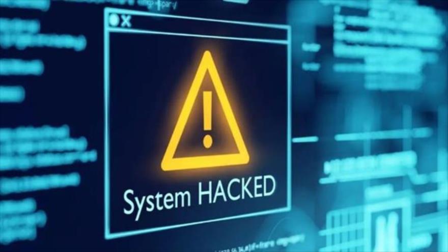Una sitio Web hackeado.