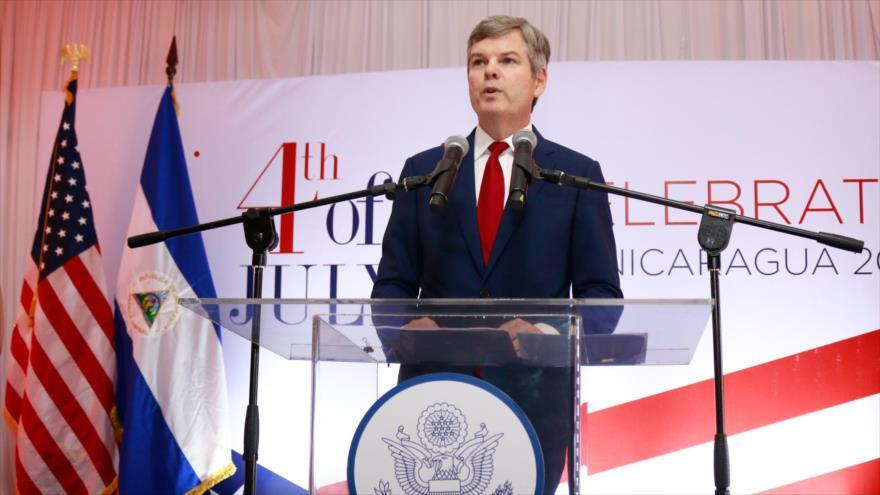 El embajador de EE.UU. en Nicaragua, Kevin Sullivan. (Foto: usembassy.gov)