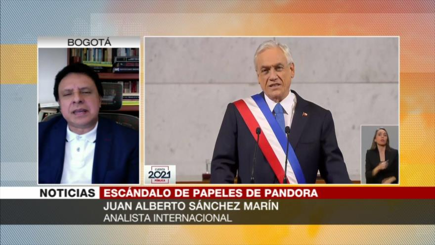 Analista: Piñera, entre la espada y la pared por caja de Pandora   HISPANTV