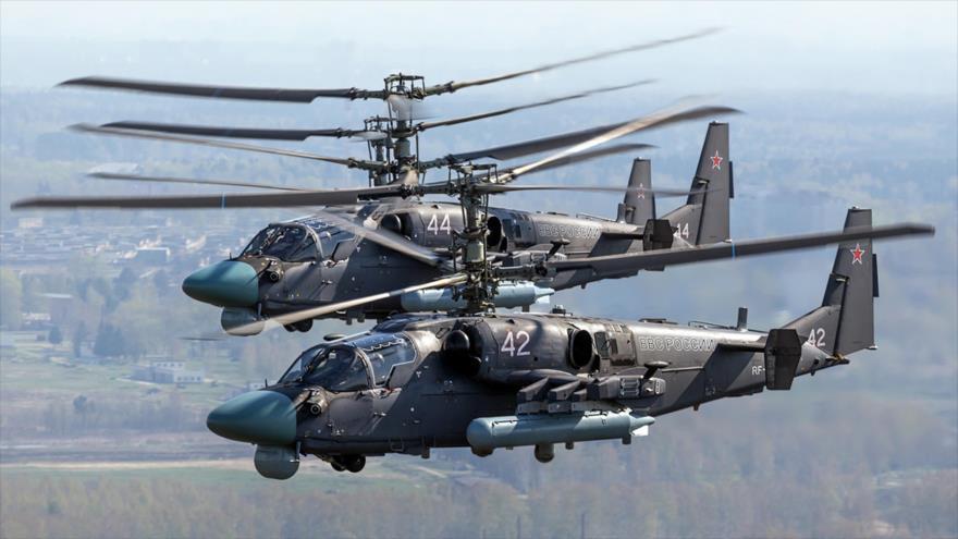 Por vez 1.ª autogiros de Rusia y EEUU se ven cara a cara en Siria