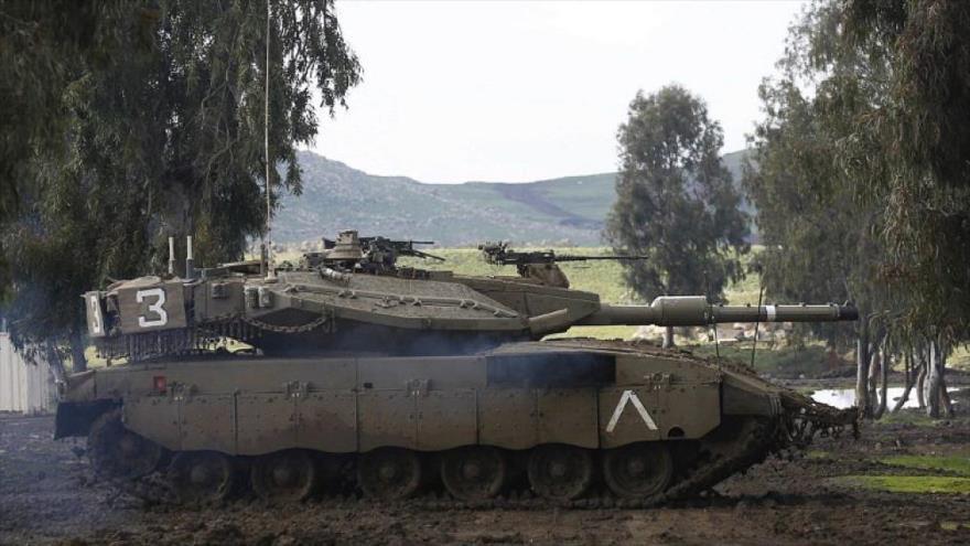 Vídeo: Israel traslada tanques al Golán ocupado sirio