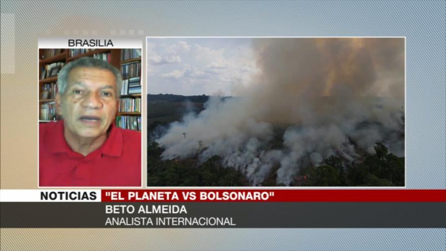 Almeida: Política de Bolsonaro es destruir políticas existentes durante décadas