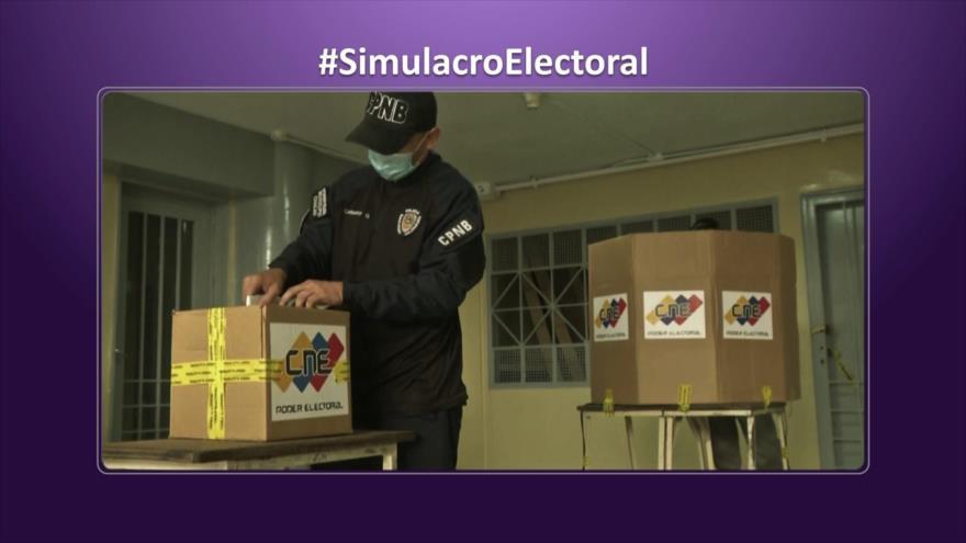 Etiquetaje: Simulacro electoral en Venezuela