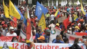 Latinoamericanos rechazan colonialismos en Día de Hispanidad