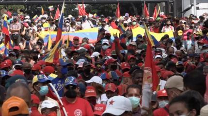 Marchan por el Día de la Resistencia Indígena en Venezuela