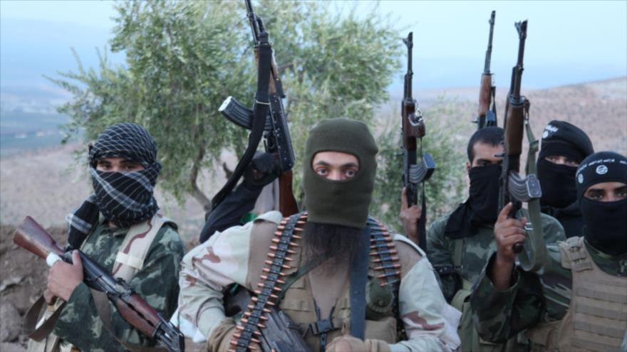 Integrantes de Daesh en Afganistán. (Fuente: Sputnik)