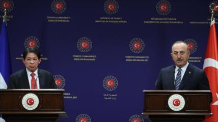 Turquía rechaza sanciones contra Nicargua y afianza cooperación