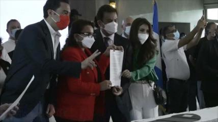 Xiomara Castro y Salvador Nasralla consuman alianza en Honduras