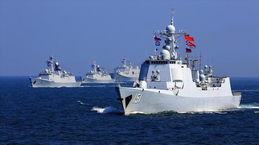 Rusia y China inician maniobras navales conjuntas en mar de Japón