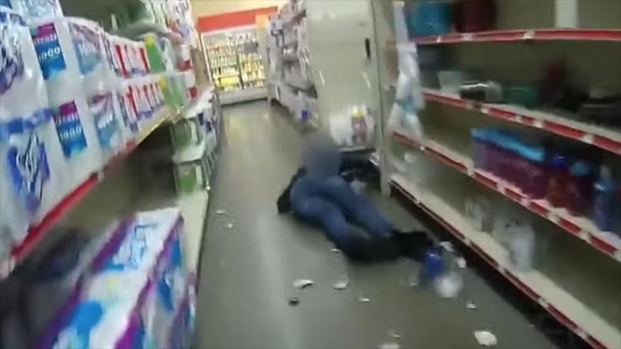 Vídeo: Policía estadounidense dispara y mata a otro hombre negro