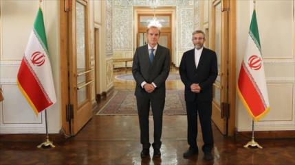Irán recibe al representante de la UE en los diálogos de Viena