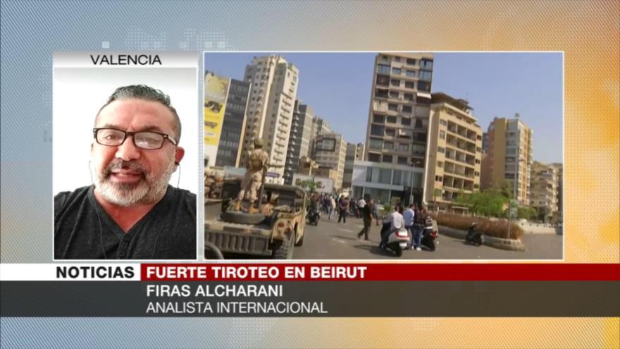 """Disparos de Beirut se realizaron para provocar una guerra civil"""