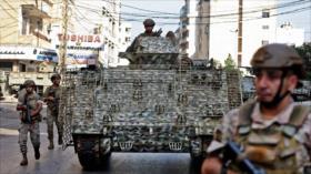 Soldados libaneses garantizan normalidad tras tiroteo en Beirut