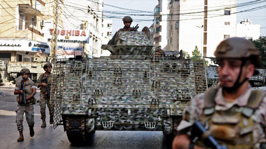 Soldados libaneses garantizan normalidad tras tiroteo en Beirut | HISPANTV