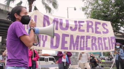 Mujeres panameñas exigen paridad en reformas electorales
