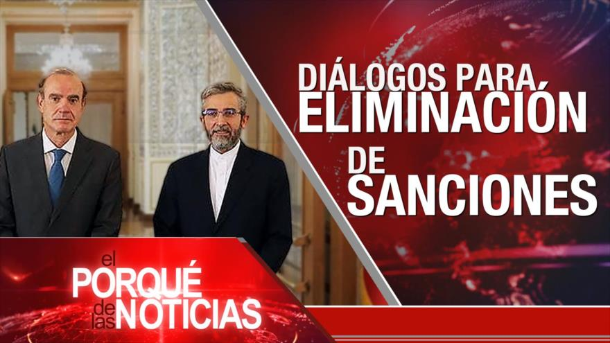 El Porqué de las Noticias: Rechazo a las sanciones. Guillermo Lasso defiende su desempeño financiero. Venezuela exige respeto a España
