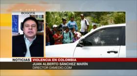 Marín: Violencia en Colombia no acabará en Gobierno incapaz de Duque