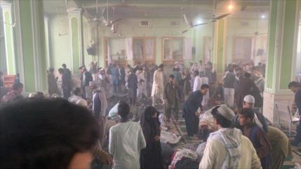 Explosión en una mezquita deja al menos 32 muertos en Afganistán