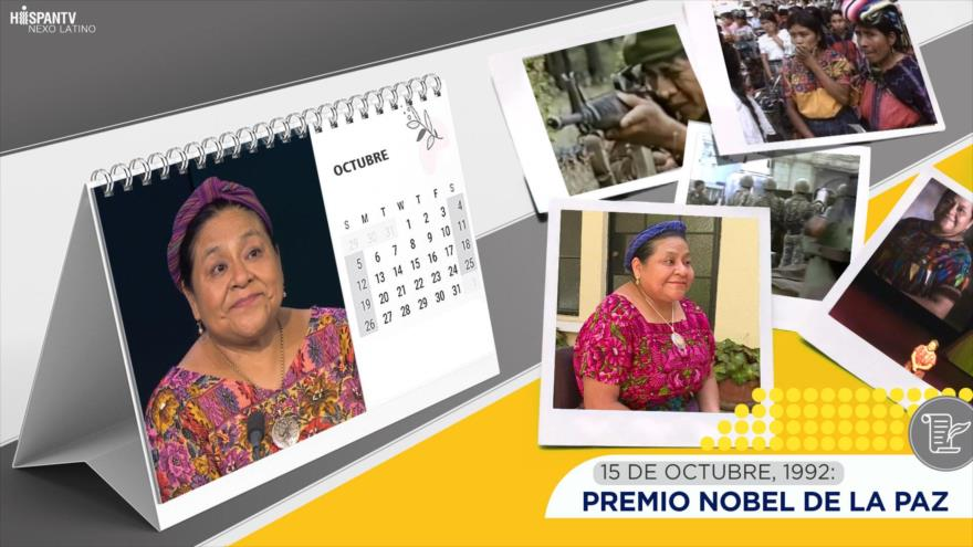 Esta semana en la historia: Líder indígena, Premio Nobel de la Paz