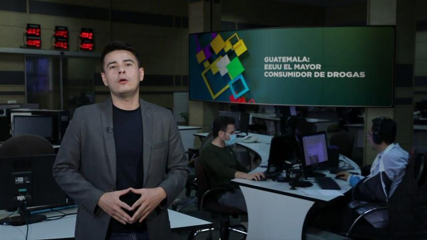 Buen día América Latina: Guatemala: EEUU El mayor consumidor de drogas