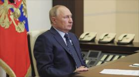 Putin: Rusia no tiene prisa para reconocer oficialmente a Talibán