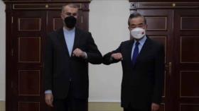 Irán y China, decididos a reforzar la cooperación estratégica