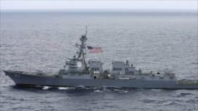 Rusia expulsa al destructor de EEUU que intentó violar sus aguas